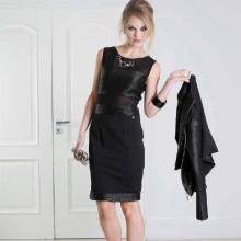 Capa para um vestido de noite curto