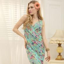 Sarong klänning