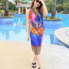 Klänning sarong färg