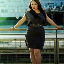 Jurk vleermuis voor zwaarlijvige vrouwen