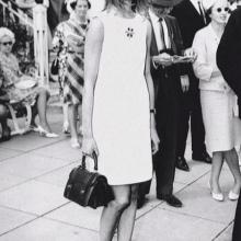 Suora mekko, keskipitkä 60s