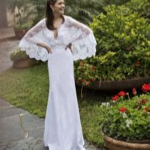 Vestuvių suknelė su plačiomis rankovėmis
