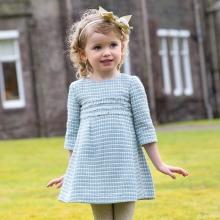 Tweed ruha lányoknak 3-5 év