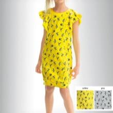Nyári sárga ruha lányoknak