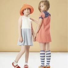 Nyári ruha-a-line a lányoknak