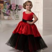 Vestido elegante para meninas 4-5 anos de fofo para o chão