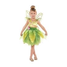 Vestido de ano novo para a menina verde