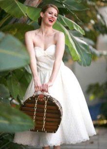 Retro stílusú esküvői fűző