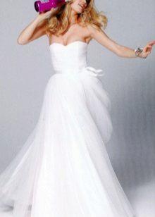 Esküvői ruha draped bodice
