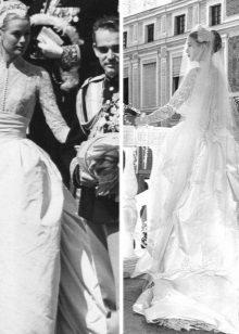 Grace Kelly Silk esküvői ruha