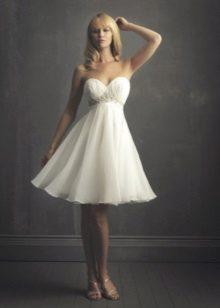Csodálatos esküvői ruha a sifonból
