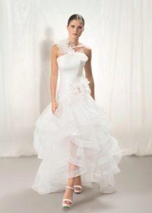 Organza esküvői ruha