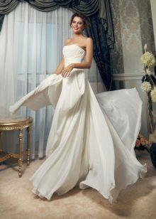 Esküvői ruha multi-sifonból