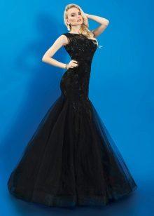 Vestido de noite sereia