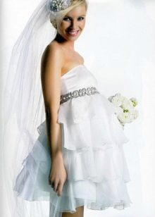 Сватбена рокля за бременни булки
