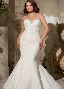 Vestit de núvia sirena complet