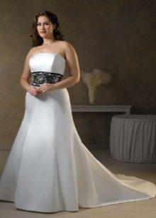 Vestit de núvia amb tren per a núvies completes