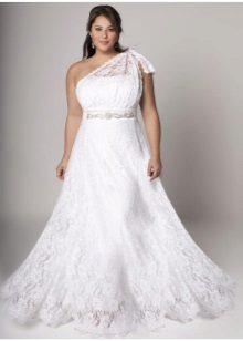 Vestit de núvia d'estil grec complet