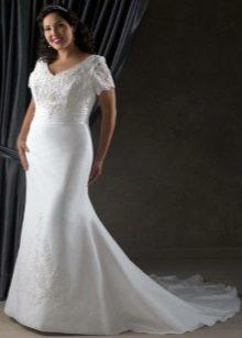 Vestit de núvia per a mànigues completes