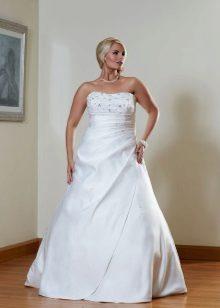Vestit de núvia per a les rosses completes