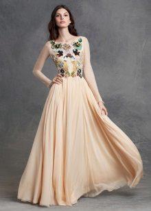 Esti bézs ruha Dolce és Gabbana