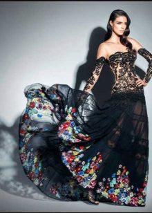 Aftenkjole fra Zuhair Murad i Gypsy stil