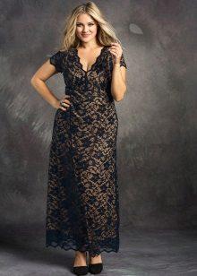 Avond kanten jurk