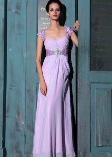 Světle fialové šaty