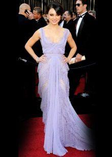 Pakaian malam Lavender - Mila Kunis