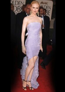 Pakaian malam Lavender Nicole Kidman
