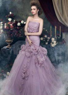 Lavender dress megah