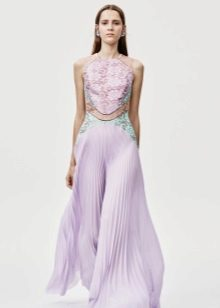 Evening dress gently lilac