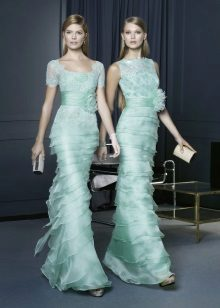 Turquoise Evening Dresses by Rosa Clar
