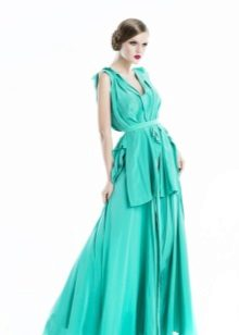 Light Turquoise Gown