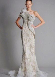 Rochie albă de seară