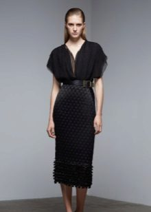 Dress chiffon evening from Donna Karan