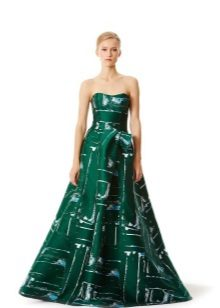Iltapuku, Carolina Herrera vihreä