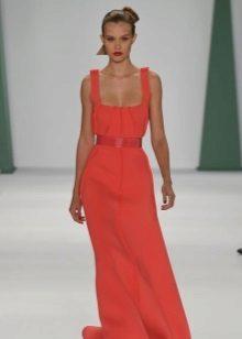 Iltapuku Carolina Herrera punaiselta