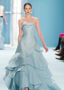 Iltapuku Carolina Herrerasta sininen