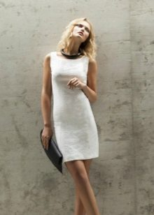 Caso vestido de noite branco