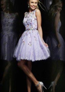 Vestido de noite roxo
