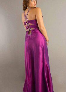 Elegant vestit de nit amb esquena oberta de grans dimensions
