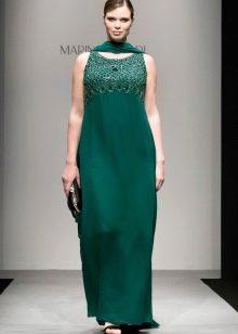 Vestit de nit elegant per ple de Marina Rinaldi verd