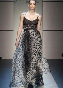Vestit de nit elegant i elegant de gris Elena Miro