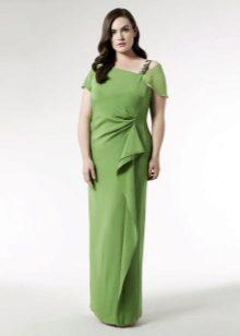 Vestit de nit elegant i verd per complet
