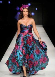 Elegant vestit de color complet