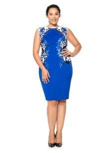 Vestit de nit elegant blau complet