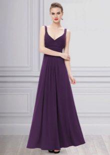Evening vestido roxo para o chão é barato