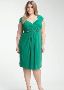 Korte jurk met Empire bodice