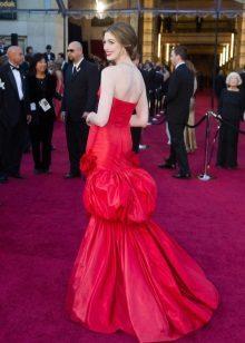 Vestido de Noite Vermelho En Hatteeway